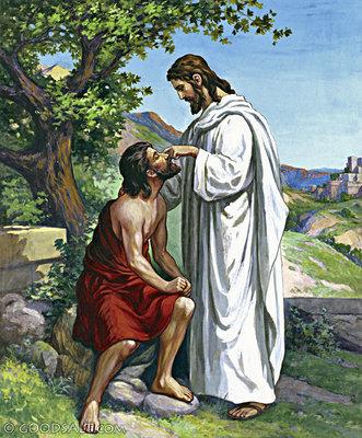 yesus menyembuhkan seorang buta di Betsaida | KASKUS