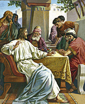 YESUS MAKAN BERSAMA OARANG FARISI - LUK 14