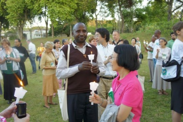 MENGENANG SPIRIT OF ASSISI - SAO PAULO 2011. SDR DR RWANDHA, JEPANG DAN HONGKONG