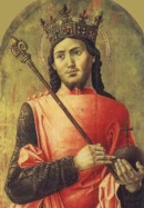 ST. LUDOVIKUS IX [1215-1270] KING, PATRON SAINT OF THE OFS