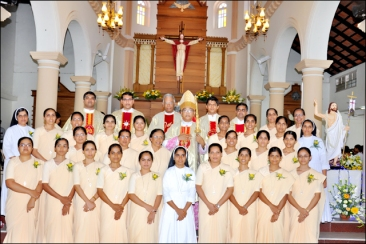 URSULINE FRANCISCAN SISTERS - MANGALORE, INDIA